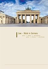 Rechtsanwalt Dr. Lars Jaeschke, LL.M. - Fachanwalt für Gewerblichen Rechtsschutz - Law - Made in Germany, Magazin Titelbild
