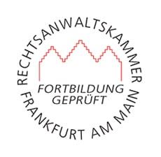 Rechtsanwalt Dr. Lars Jaeschke, LL.M. - Fortbildung geprüft, Rechtsanwaltskammer Frankfurt am Main